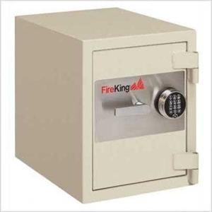 Fire King Burglary Fire Safes - FireKing 1 Hour Fire & Burglary Rated Record Safe With 1 Shelf FB2218C1