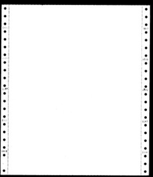 Computer Paper, 2 Part White - Yellow, 9 1/2 x 5 1/2, 02877, by PrintWorks (Image #1)