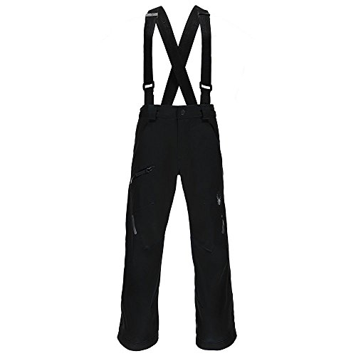 Spyder Boy's Propulsion Ski Pant, Black, Size 20 by Spyder