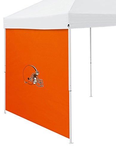 Logo Brands NFL Cleveland Browns Side Panel, One Size, Orange