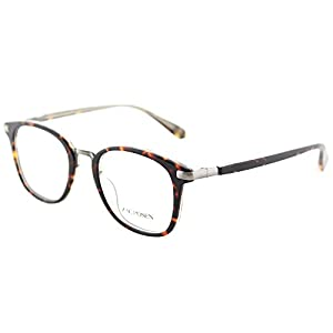 Zac Posen Aliza TO Tortoise Plastic Square Eyeglasses 47mm