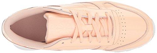 Patent Reebok Shoe White Women's Walking Cl Dust Desert Lthr vBASg6q