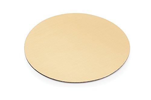 Fox Run 48737 Cake Boards, 10, Gold