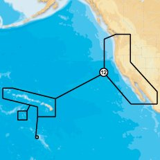 Navionics Platinum Plus 912PP - US West Coast - Hawaii - SD Card