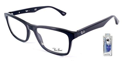 Ray Ban RX5279 2000 55mm Shiny Black Highstreet Square Eyeglasses Bundle-2 - Ban 2000 Ray