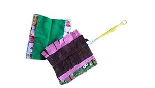 flannel-set-of-2-duster-refills-grab-bag-fun-prints-washable-handle-not-included