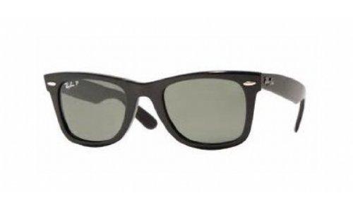 Ray-Ban Original Wayfarer Sunglasses Black/Green (Original Wayfarer Brillen)