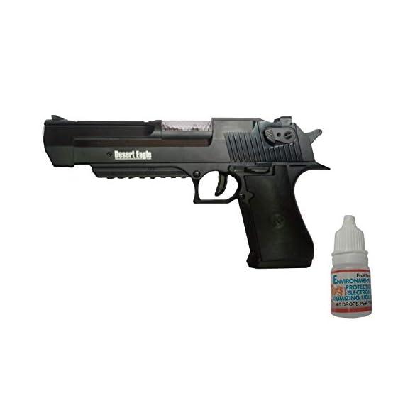 IndusBay® Desert Eagle Revolver Pistol Gun Toy for Kids – with Real Smoke Effect, Vibration, Light & Sound Handgun Toy for Kids