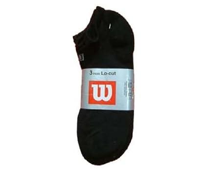 Wilson - Calcetines de deporte - para hombre, hombre, color Negro - negro,