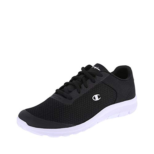 Champion Women's Black White Mesh Women's Gusto Performance Cross Trainer 9.5 Regular