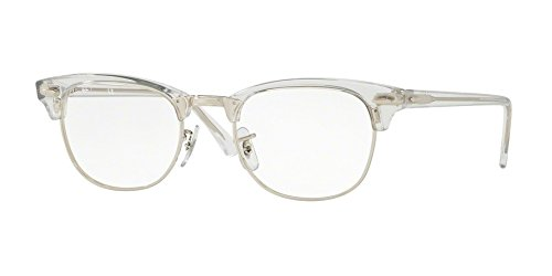 Eyeglasses Ray-Ban Optical RX 5154 2001 WHITE - Ray Ban White Clubmaster