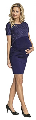 Mini Dots Infermieristico Accesso Mamma With Vestito Bodycon 262p Delle Maternity Top Happy Con 262p Access With Mini Mama Dress Nursing Navy Con Maternità Aderente Donne Top Marina I Womens Felice Puntini Di wYRxxqF1