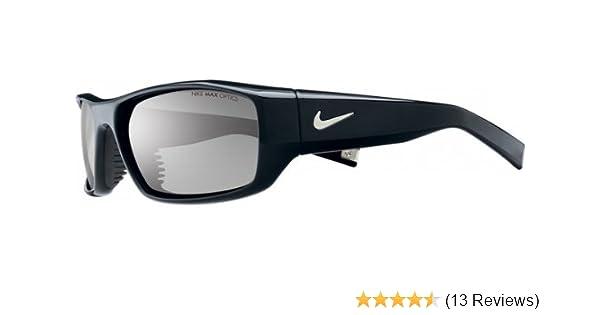 fb8d6735e849 Amazon.com: Nike Brazen Sunglasses (Black Frame, Grey Lens): Sports &  Outdoors