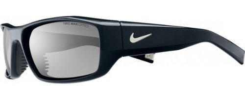 Nike Brazen Sunglasses (Black Frame, Grey Lens)