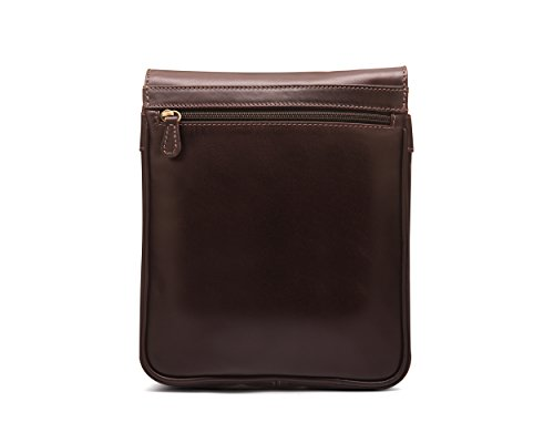 Large Brown Portrait Messenger SageBrown Bag zqA6Id61wx