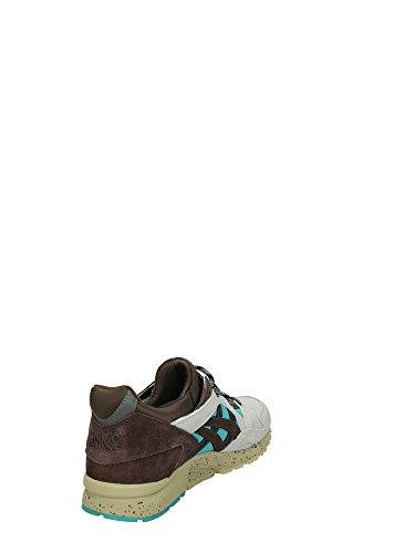 Asics - Zapatillas de Piel para hombre marrón