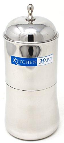 Kitchen Mart Aroma Steel Coffee Filter, 300ml, 4cups