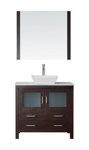 Virtu USA KS-70030-WM-ES Modern 30-Inch Single Sink Bathr...