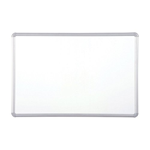Balt Magne-Rite Plastic Corner Dry Erase Markerboard Presidential Trim Silver 4