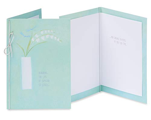 American Greetings Premium Sympathy Greeting Card Collection, 8-Count Photo #3