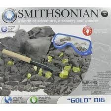 Smithsonian ''Gold'' Dig Science Kit