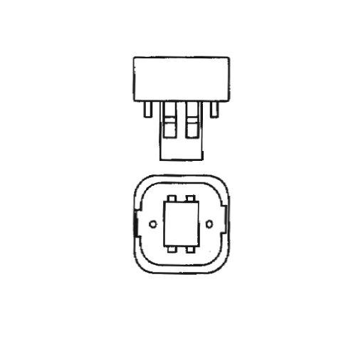 Bulbrite CF13D830 13W Quad 2-PIN 830K Compact Fluorescent Light Bulb Soft White