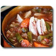 Blount Fine Foods Maryland Style Crab Soup - 4 lb. package, 4 per case