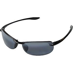 Maui Jim Unisex Makaha Readers Gloss Black/Neutral Grey Lens/2.5 Lens +2.50