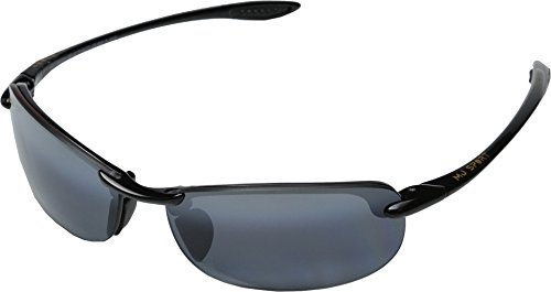 Maui Jim Unisex Makaha Readers Gloss Black/Neutral Grey Lens/2.5 Lens +2.50