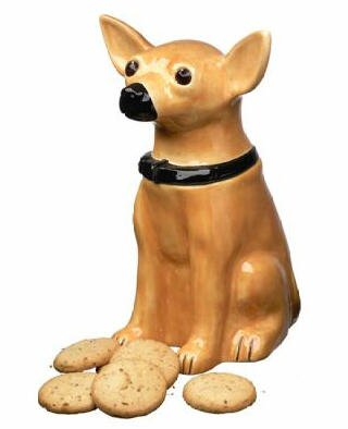 Chihuahua Cookie Jar Fascinating Amazon Chihuahua Mexican Spanish Dog Puppy Puppies COOKIE Jar
