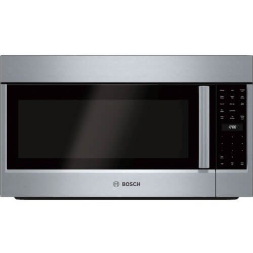 Bosch S800 30 Convection Over-the-Range Microwave, 1.8 CF, 1000W (HMV8053U)