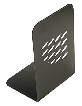 Pack of 2 Q-Connect L-Shaped Metal Bookend