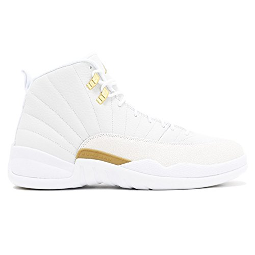 Price comparison product image jo theakston Fashion Sneaker AIR JORDAN 12 RETRO 873864 102 White True Flight Basketball Shoe