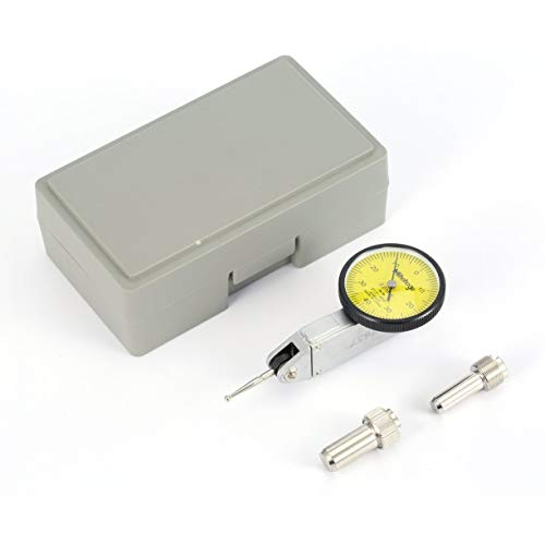 0-0.8mm Precision Dial Test Indicator Level Gauge Scale Metric Dovetail Rails High Accuracy Balanced Dials For Machining by Detectoy