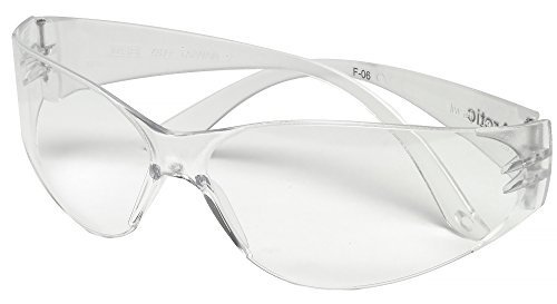 MSA Safety 697514 Arctic Eyewear, Clear Lens, Anti-Scratch - Lenses Best Scratch Anti