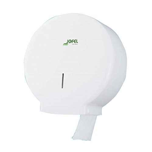 Jofel AE51700 Azur  Toilet Roll Holder Medium, 300  m, ABS White Antibacterial 300 m