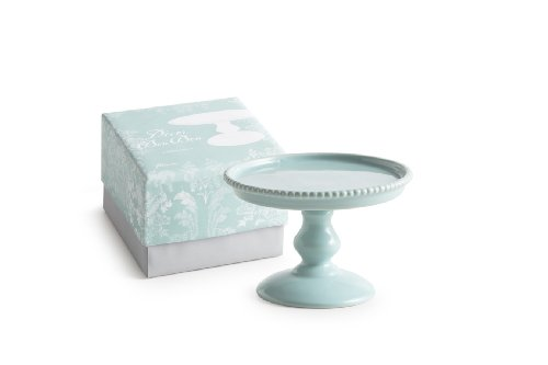 Rosanna 89070 Décor Bon Bon Hue Beaded Pedestal, Small, Blue