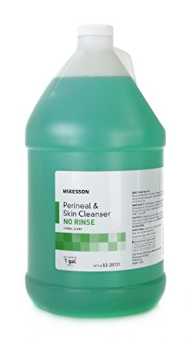 Retails MSA Herbal Scent Light Green No-Rinse Perineal Wash Liquid 1 (No Rinse Liquid Cleanser)