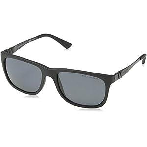 Polo 4088 528481 Matte Black 4088 Wayfarer Sunglasses Polarised Lens Category 3