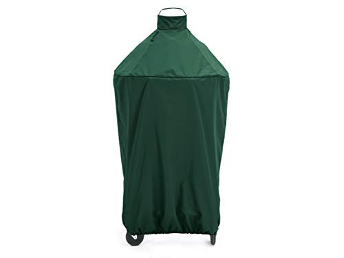 Covermates - Kamado Full Grill Cover - 29 Diameter x 48H - Elite Collection - 3 YR Warranty - Year Around Protection - Green