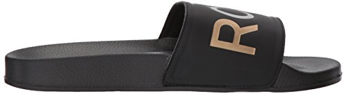 Slide Roxy Women's Slippy Multi Black Sport Sandal q0EzR0