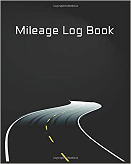 amazon mileage log book vehicle mileage gas expense tracker for