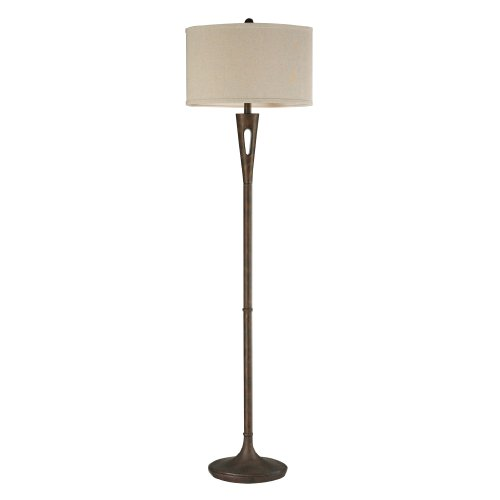 Dimond Lighting D2427 Martcliff Floor Lamp, (Bronze Shaded Floor Lamp)