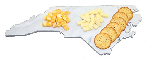 Custom North Carolina Marble Cutting Board, Serving Tray, or Cheese Board- Personalized with Laser Engraving
