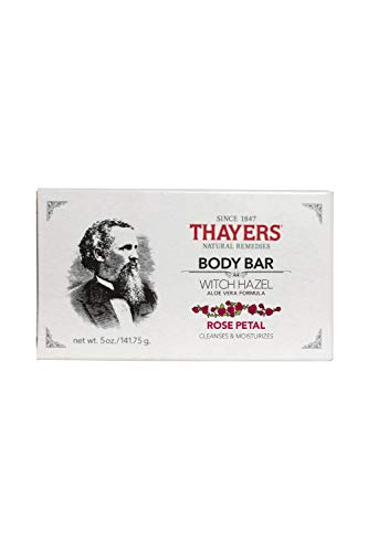 Thayers - Body Bar Soap with Witch Hazel and Aloe Vera Rose Petal - 5 oz.