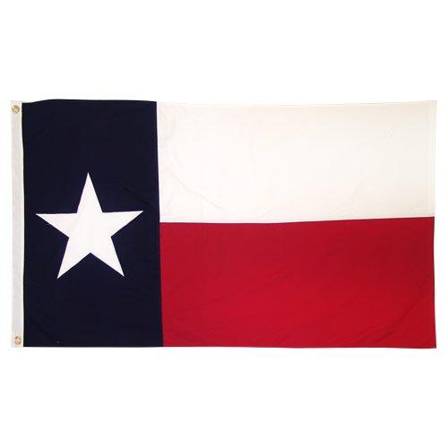 US Flag Store Texas Flag 3ft x 5ft Cotton