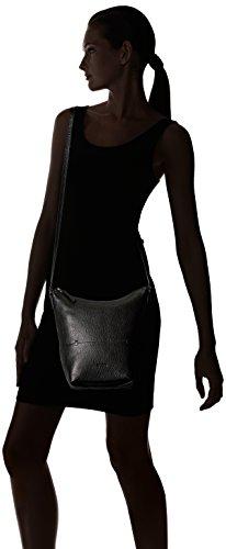 Ecco Sp Crossbody - Borse a tracolla Donna, Schwarz (Black), 11x24x28 cm (B x H T)