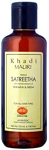 Khadi Satreetha Herbal Shampoo - Anti Hairfall & Root Strengthening - 200 Ml - Enriched With Shikakai & Neem