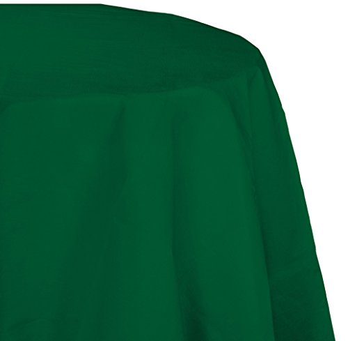 Hunter Placemat Paper (Creative Converting Octy-Round Paper Table Cover, 82-Inch, Hunter Green)