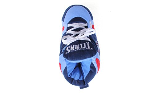 Tennessee Mens Sneaker Happy Feet Womens And Licensed Titans Officially Comfy Nfl Slippers HB1qn